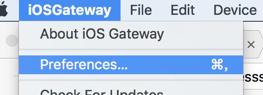 iOSGateway-Install-preference