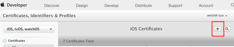 iOScert