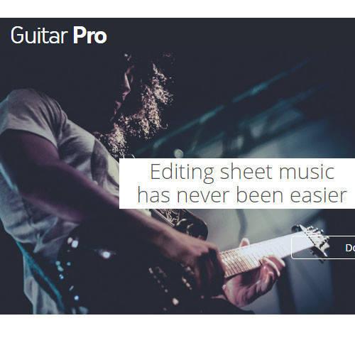 Guitar Pro XL Edition 樂譜編輯軟體