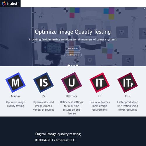 Imatest Master License 圖像質量測試軟體(影像測試軟體)