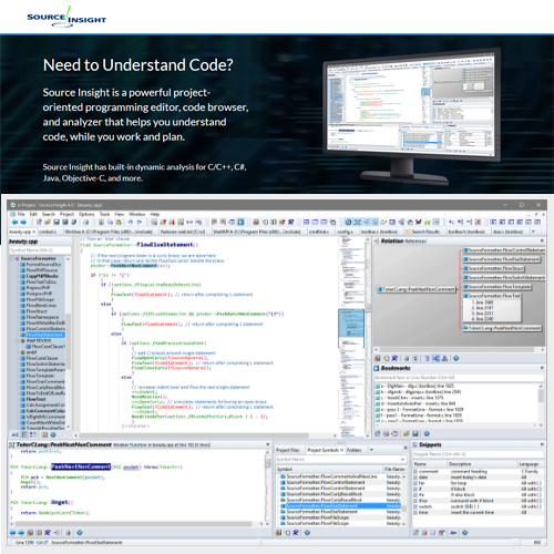 Source Insight 4.0程式碼編輯開發軟體