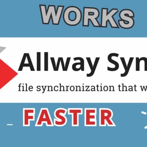 Allway Sync Pro 備份工具軟體(繁體中文版)